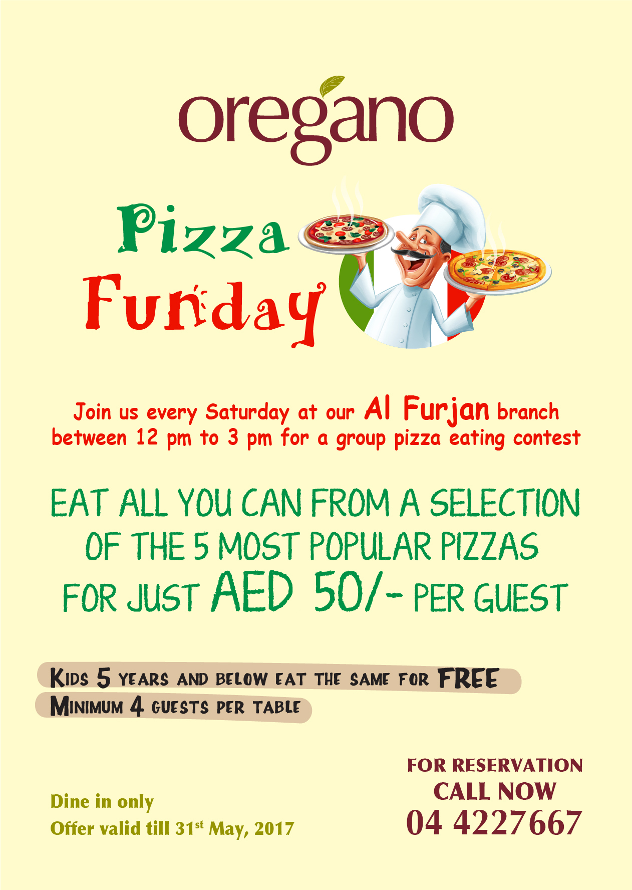 Pizza Funday_Oregano